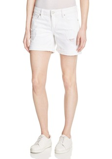 DL 1961 DL1961 Karlie Boyfriend Shorts in Polar