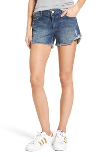 DL 1961 DL1961 Karlie Cutoff Denim Boyfriend Shorts (Bluegrass)