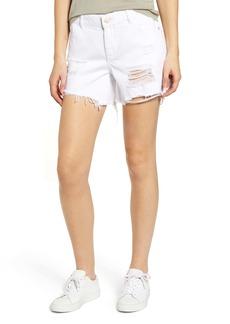 DL 1961 DL1961 Karlie Ripped Boyfriend Shorts (Howard)