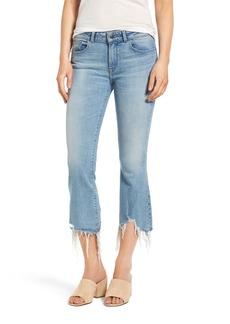 DL 1961 DL1961 Lara Crop Flare Jeans (Glacier)