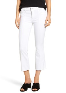 DL 1961 DL1961 Lara Crop Flare Jeans (Pin Tuck)