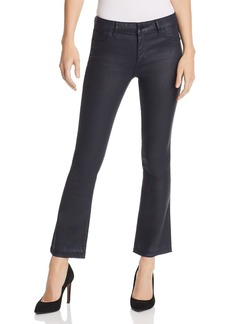 DL 1961 DL1961 Lara Instasculpt Coated Crop Boot Jeans in Marin
