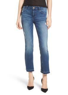 DL 1961 DL1961 Lara Instasculpt Crop Flare Jeans (Elmwood)