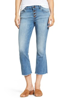 DL 1961 DL1961 Lara Instasculpt Crop Flare Jeans (Nugget)