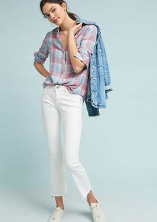 DL 1961 DL1961 Lara Instasculpt High-Rise Cropped Flare Jeans