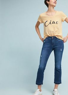 DL 1961 DL1961 Lara Mid-Rise Cropped Flare Jeans