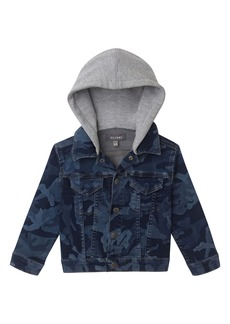 DL 1961 DL1961 Manning Camo Hooded Denim Jacket (Toddler & Little Boy)
