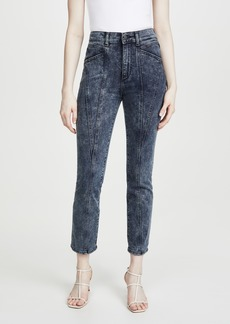 DL 1961 DL1961 Mara Ankle: High Rise Straight Jeans