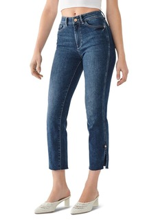 DL 1961 DL1961 Mara High-Rise Ankle Straight Jeans in Roswell