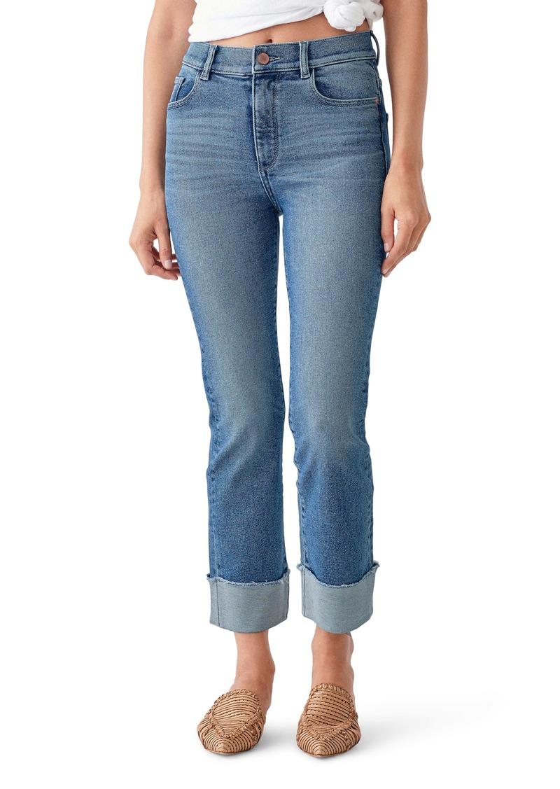 DL 1961 DL1961 Mara High Waist Ankle Straight Leg Jeans (Monclair)