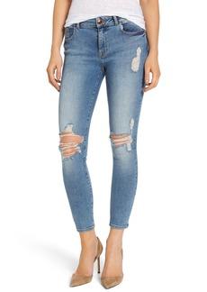 DL1961 Margaux Instasculpt Ripped Ankle Skinny Jeans (Karmic)