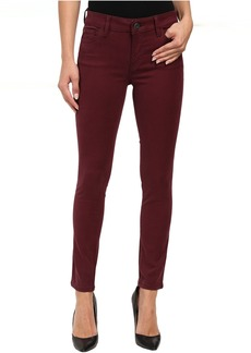 DL1961 Margaux Mid-Rise Ankle Skinny in Mulberry
