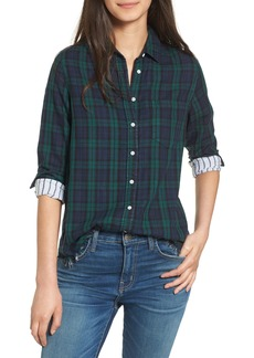 DL 1961 DL1961 Mercer & Spring Frayed Shirt