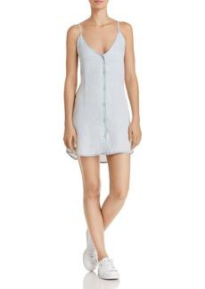 DL 1961 DL1961 Minetta Chambray Slip Dress