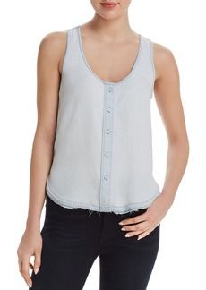DL 1961 DL1961 N 6th & Berry Chambray Top