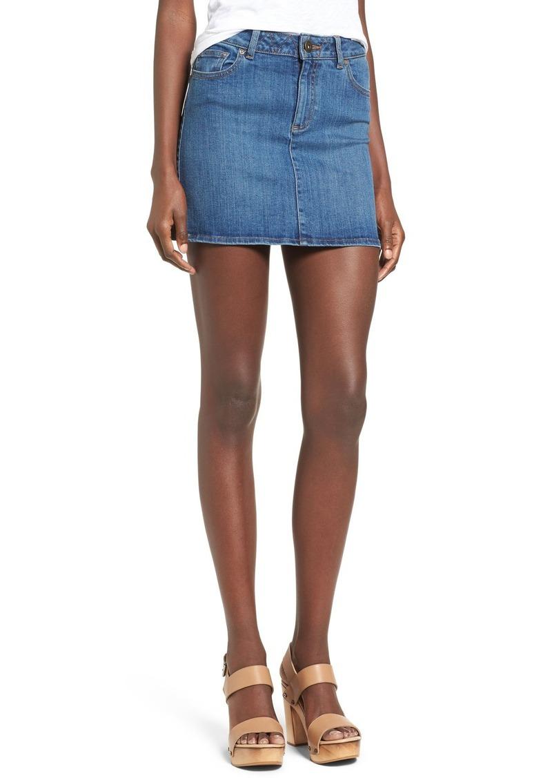 DL 1961 DL1961 'Parker' Denim Miniskirt