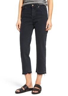 DL1961 Patti High Rise Straight Leg Jeans (Fallen)