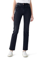 DL 1961 DL1961 Patti High Waist Ankle Straight Leg Jeans (Corvus Performance)