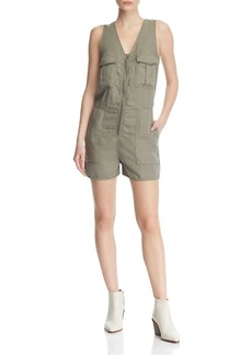 DL 1961 DL1961 Pioneer Cargo Chambray Romper