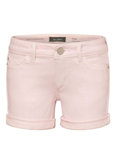 DL 1961 DL1961 Piper Cuff Denim Shorts (Toddler & Little Girl)