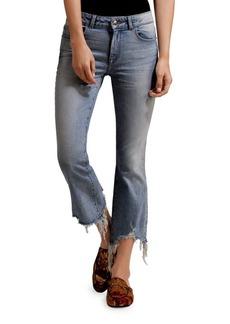 DL 1961 Cropped Flare Denim Jeans