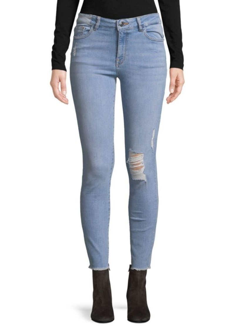 DL 1961 Distressed Ankle Jeans