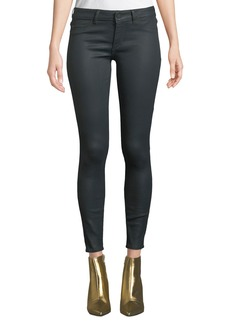 DL 1961 DL1961 Premium Denim Emma Low-Rise Coated Skinny Jeans