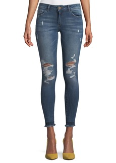 DL 1961 Emma Power Distressed Skinny-Leg Jeans