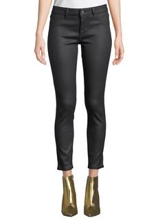 DL 1961 DL1961 Premium Denim Florence Ankle Mid-Rise Coated Skinny Jeans