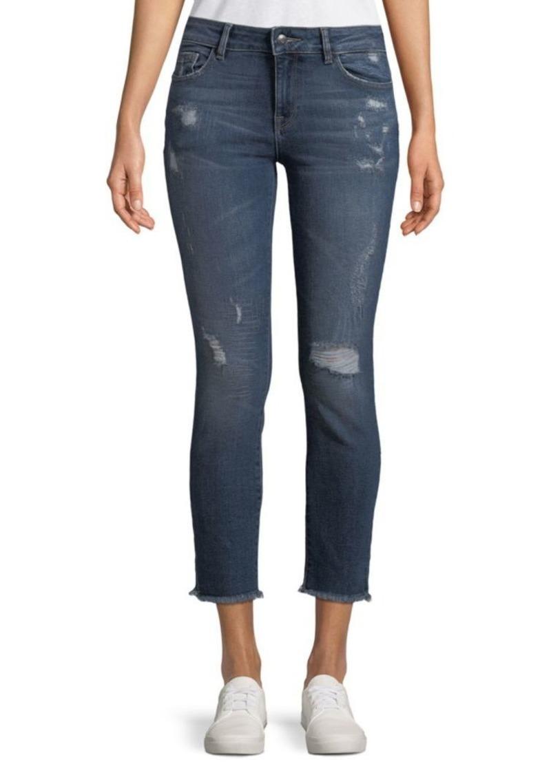 DL 1961 Florence Crop Instasculpt Skinny Jeans