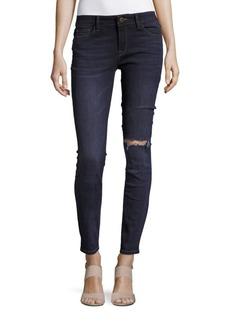 DL 1961 DL1961 Premium Denim Florence Distressed Ankle-Length Jeans