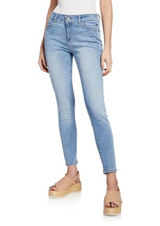 DL 1961 DL1961 Premium Denim Florence Mid-Rise Ankle Skinny Jeans