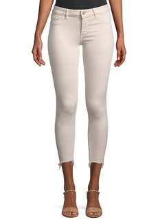 DL 1961 Florence Mid-Rise Cropped Instasculpt Skinny Jeans