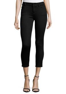 DL 1961 DL1961 Premium Denim Florence Skinny Cropped Jeans  Hail