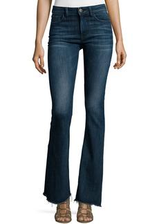 DL 1961 DL1961 Premium Denim Heather High-Waist Flare-Leg Jeans