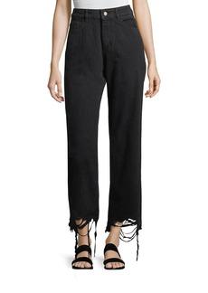 DL 1961 DL1961 Premium Denim Hepburn High-Rise Wide-Leg Jeans