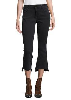 DL 1961 DL1961 Premium Denim Lara Cropped Flare Jeans