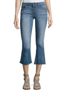 DL 1961 DL1961 Premium Denim Lara Instasculpt Cropped Flare Denim Jeans