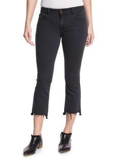 DL 1961 DL1961 Premium Denim Lara Instasculpt Cropped Flare-Leg Jeans