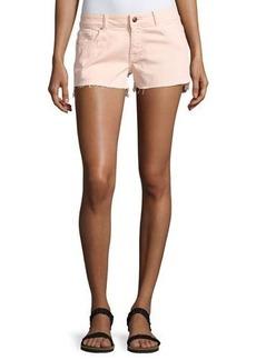 DL 1961 DL1961 Premium Denim Renee Cutoff Step-Hem Shorts