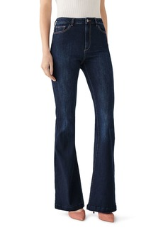 DL 1961 DL1961 Rachel Flared High-Rise Jeans in Foster
