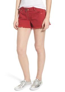 DL 1961 DL1961 Renee Cutoff Denim Shorts (Cherry Bomb)