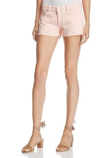 DL 1961 DL1961 Renee Cutoff Denim Shorts in Hibiscus