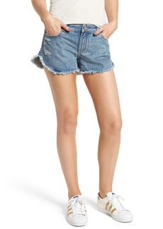 DL 1961 DL1961 Renee Dolphin Hem Denim Shorts (Gold Coast)