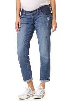 DL 1961 DL1961 Riley Maternity Boyfriend Jeans