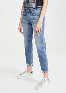 DL 1961 DL1961 Riley Tapered Mid Rise Boyfriend Jeans