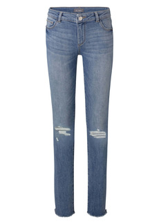 DL 1961 DL1961 Ripped Skinny Jeans (Gulfstream) (Big Girls)