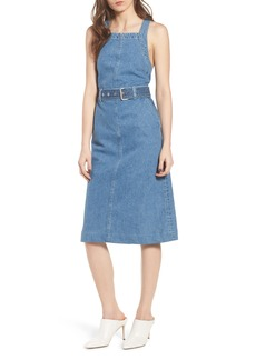 DL 1961 DL1961 Roxanne Belted Denim Dress