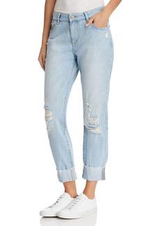 DL 1961 DL1961 Stevie Slim Boyfriend Jeans in Drifter