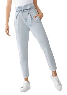 DL 1961 DL1961 Susie Paperbag-Waist High-Rise Tapered Jeans in Hazen